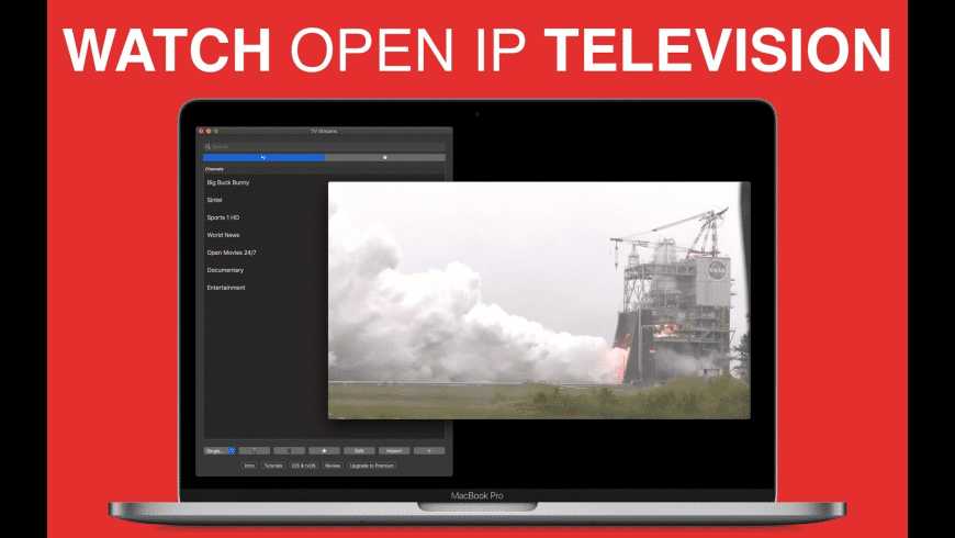 TV Streams for Mac - review, screenshots