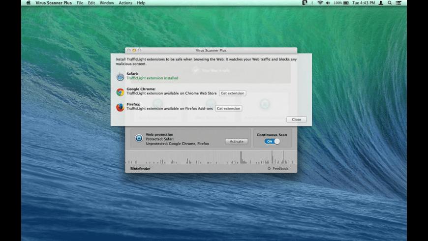 Virus Scanner Plus for Mac - review, screenshots