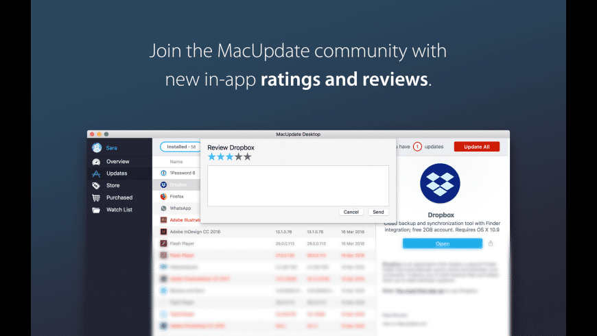 MacUpdate Desktop for Mac - review, screenshots
