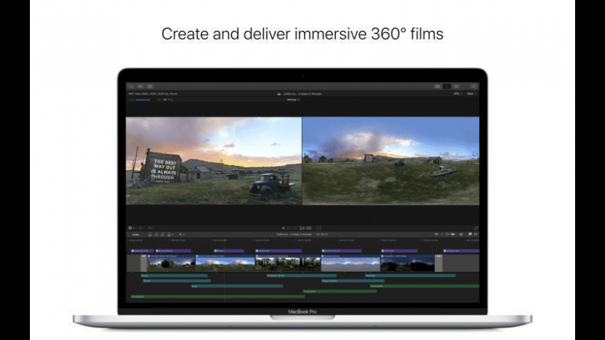 Final Cut Pro X for Mac - review, screenshots