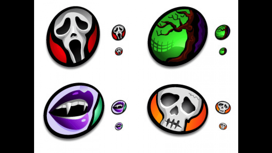 Macabre Icon Set for Mac - review, screenshots