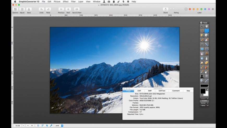 GraphicConverter (Family Pack) for Mac - review, screenshots