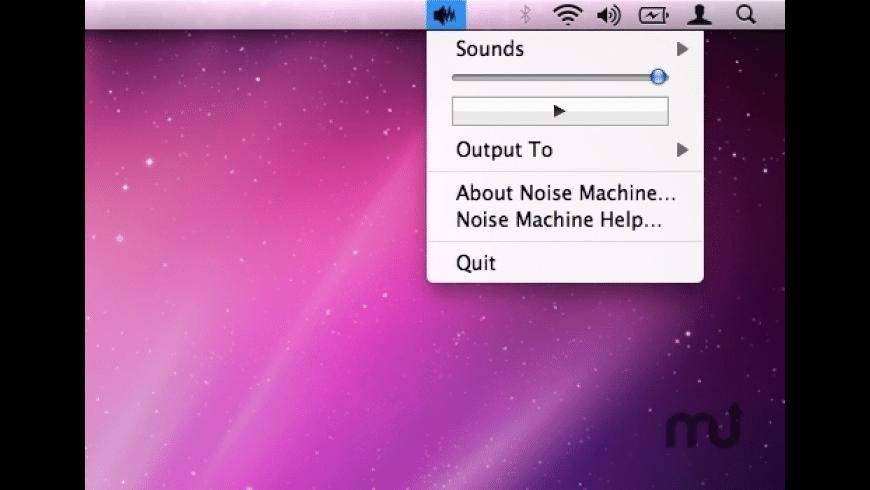 Noise Machine for Mac - review, screenshots