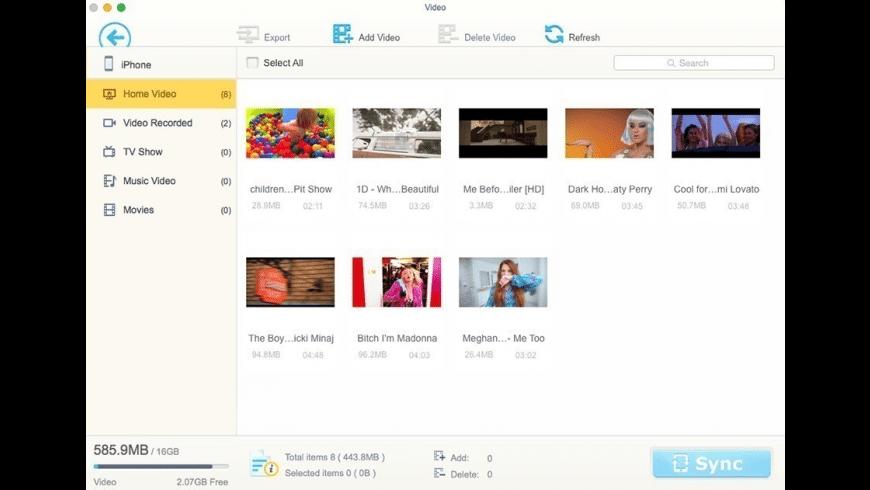 MediaTrans for Mac - review, screenshots