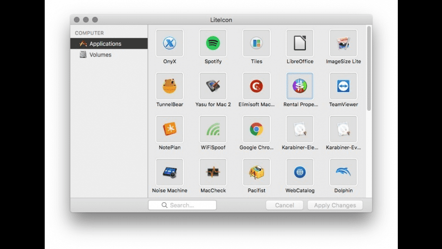 LiteIcon for Mac - review, screenshots
