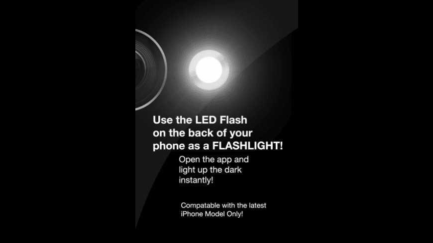 Flashlight - For iPhone 4 for Mac - review, screenshots