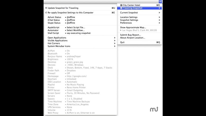 AirPort Location for Mac - review, screenshots