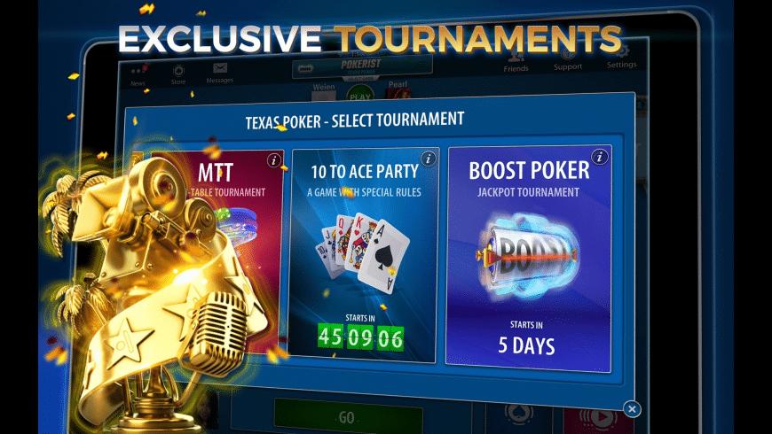 Pokerist for Mac - review, screenshots