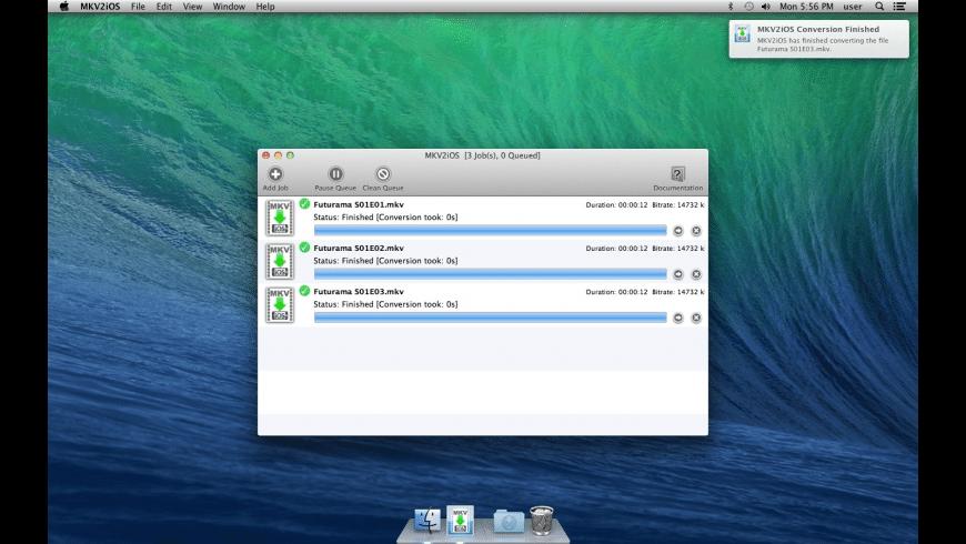 MKV2IOS for Mac - review, screenshots