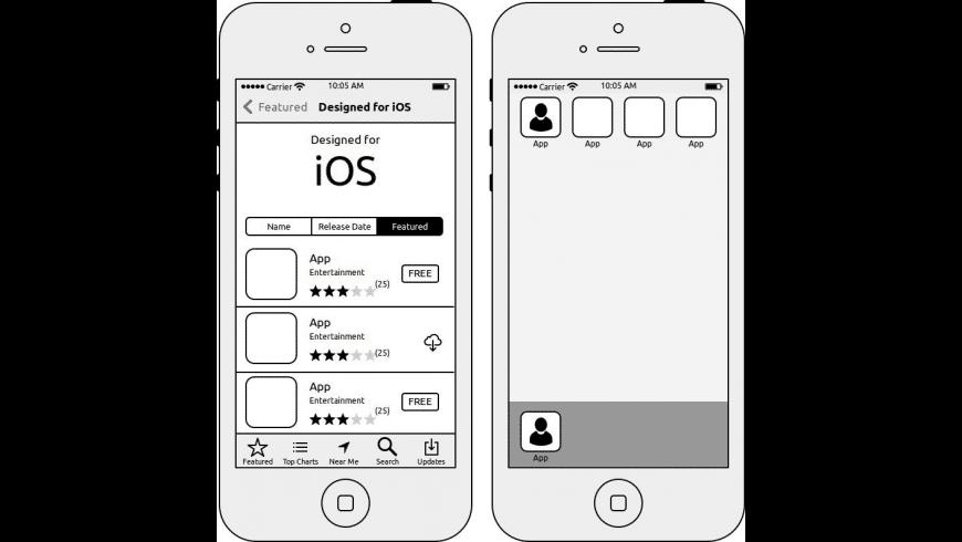 WireframeSketcher for Mac - review, screenshots