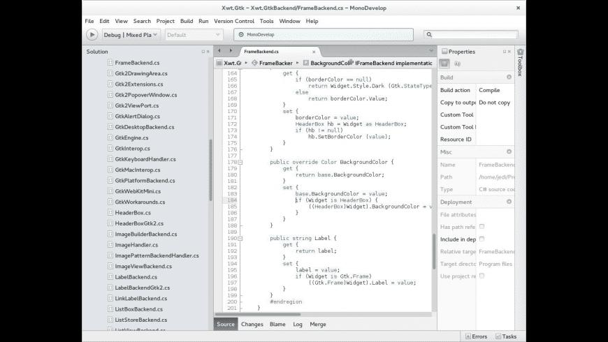 Mono for Mac - review, screenshots
