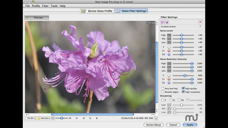 Neat Image for Photoshop for Mac - review, screenshots