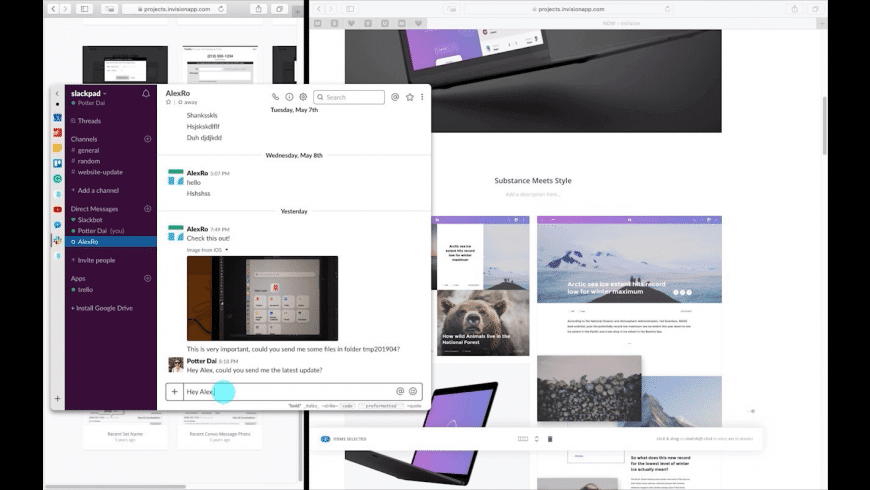 Slidepad for Mac - review, screenshots