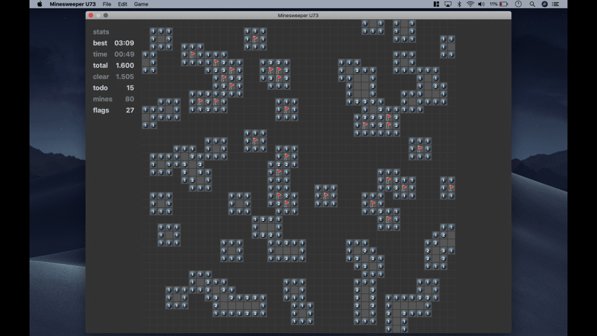 Minesweeper U73 for Mac - review, screenshots