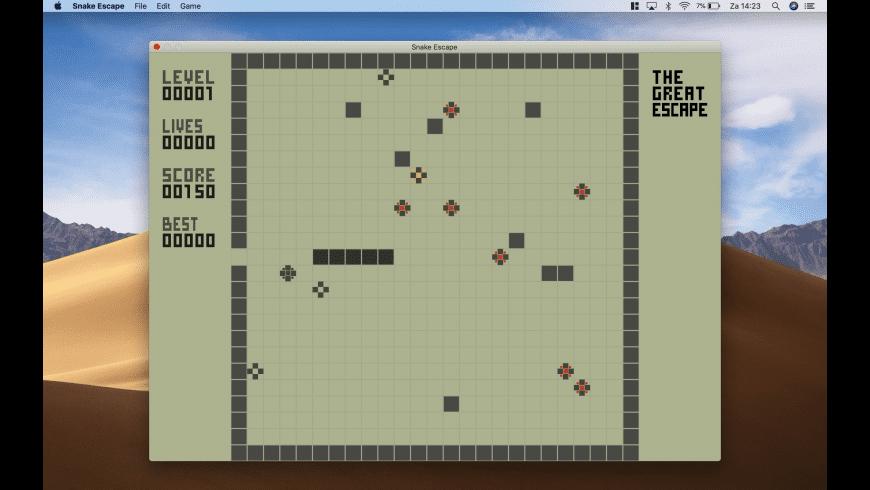 Snake Escape for Mac - review, screenshots