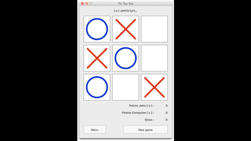 Easy-Peasy Tic Tac Toe for Mac - review, screenshots