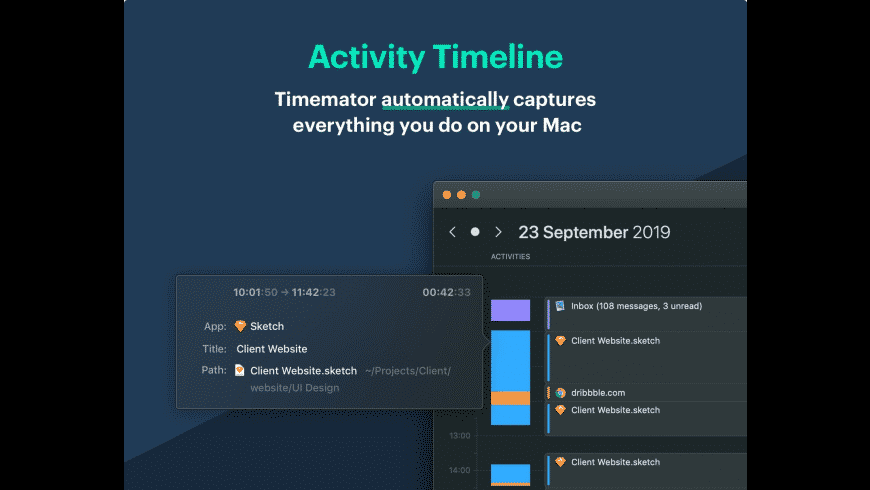 Timemator for Mac - review, screenshots
