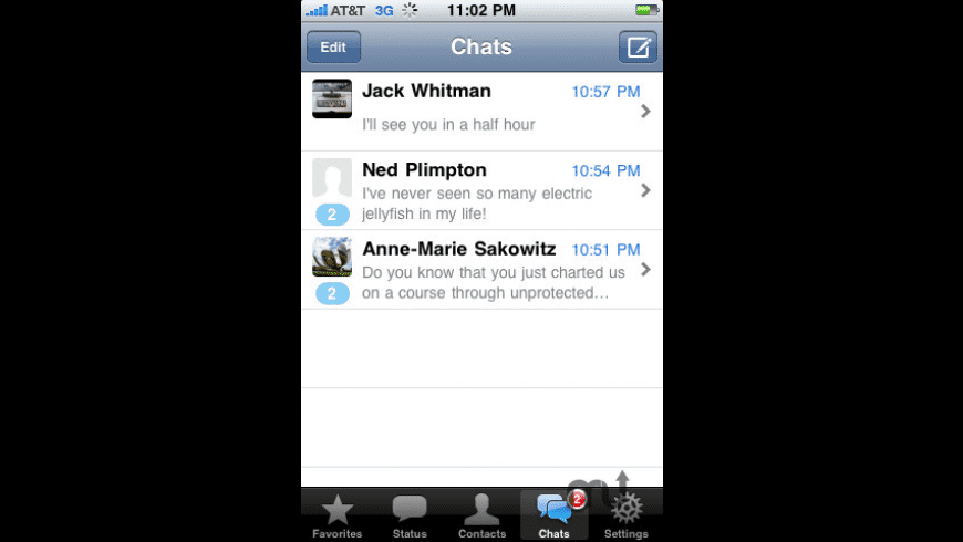 WhatsApp Messenger for Mac - review, screenshots
