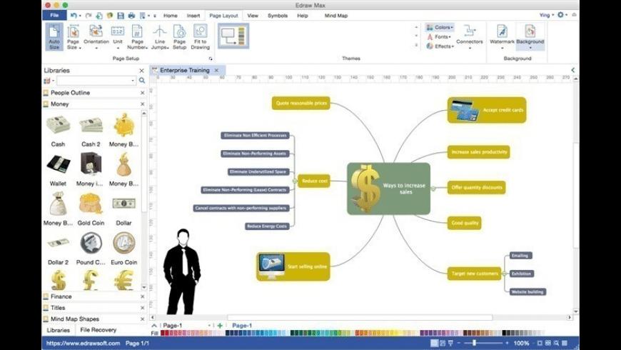 Edraw Max for Mac - review, screenshots