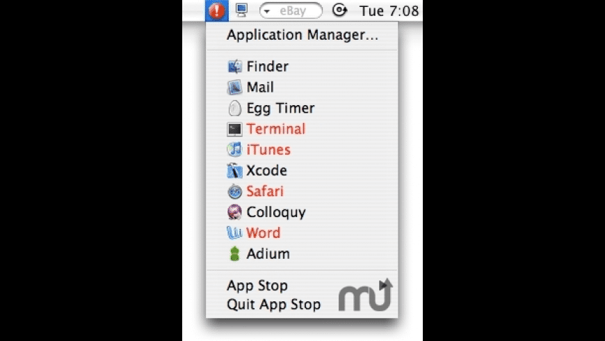 App Stop for Mac - review, screenshots
