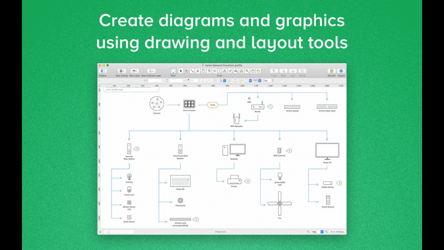 OmniGraffle Pro for Mac - review, screenshots