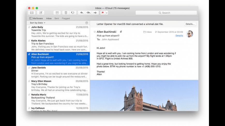 Letter Opener Pro for Mac - review, screenshots