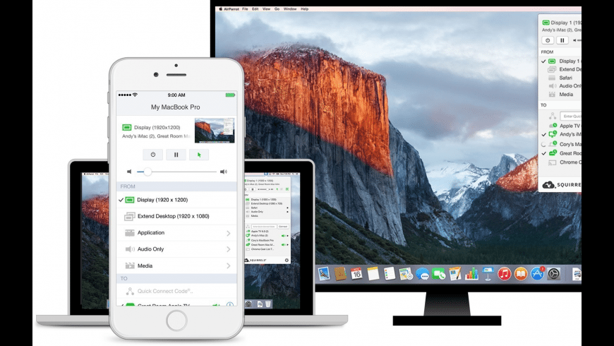 AirParrot for Mac - review, screenshots