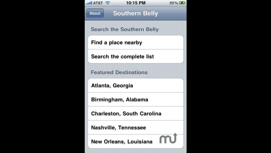 SouthernBelly for Mac - review, screenshots