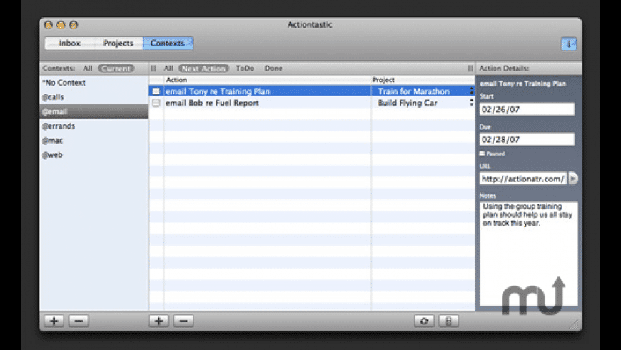 Actiontastic for Mac - review, screenshots