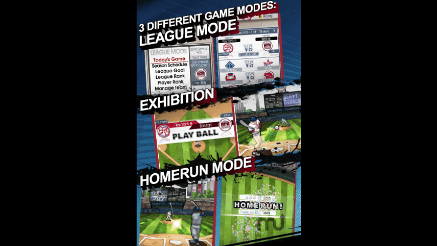 9 Innings: Pro Baseball 2011 for Mac - review, screenshots
