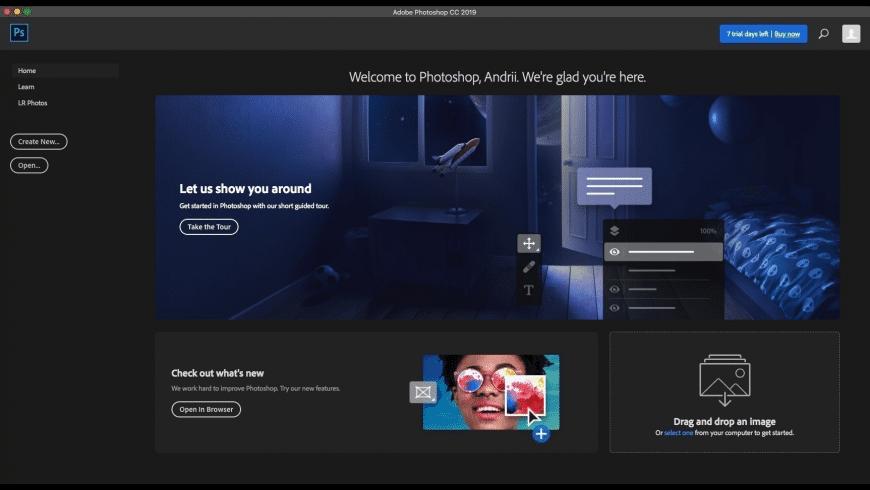 Adobe Photoshop CC 2019 for Mac - review, screenshots