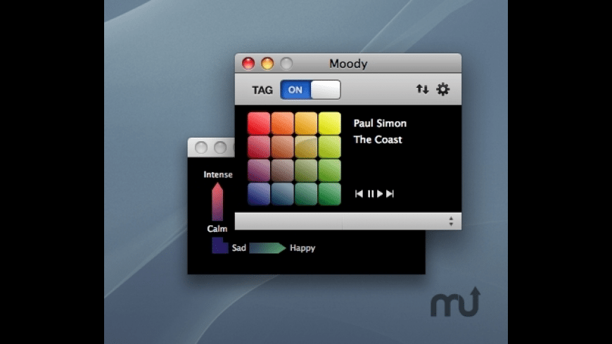Moody for Mac - review, screenshots