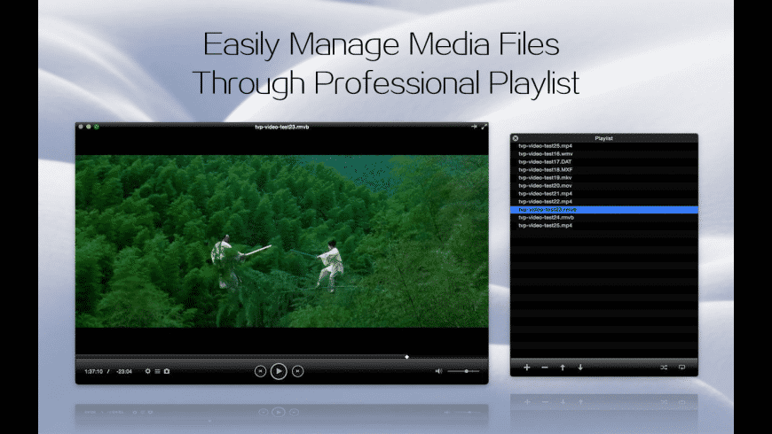 Total Video Player for Mac - review, screenshots