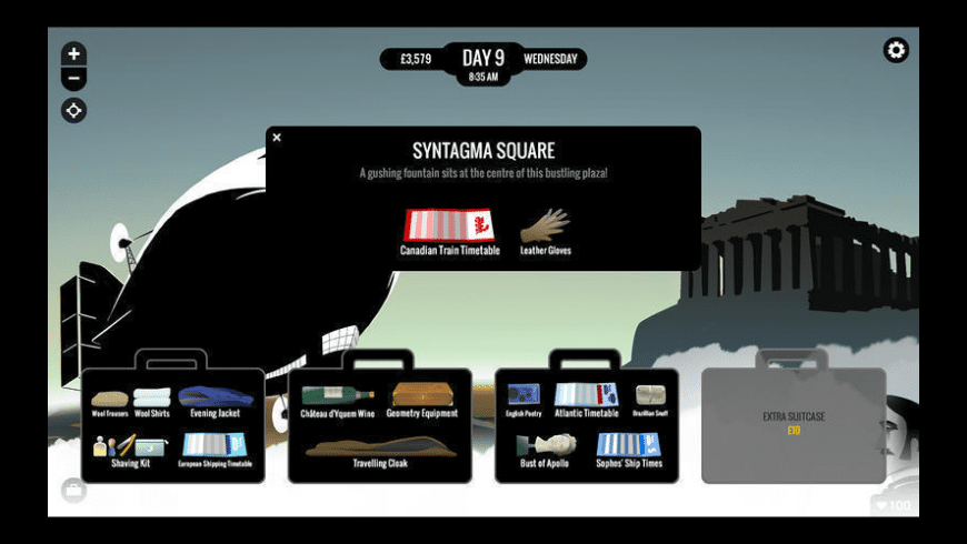 80 Days for Mac - review, screenshots