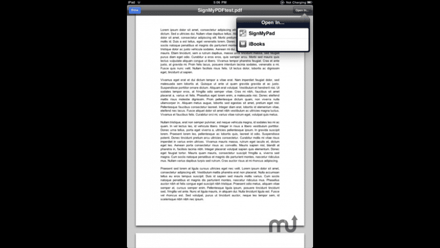 SignMyPad for Mac - review, screenshots