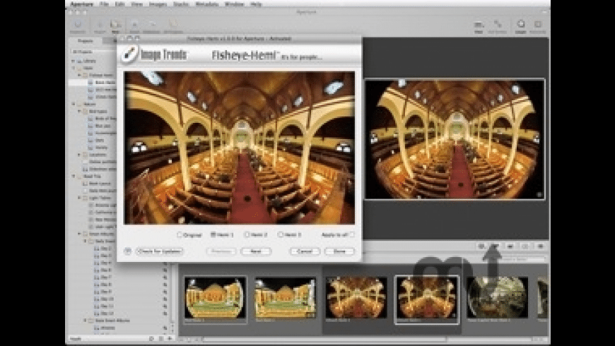 Fisheye-Hemi for Mac - review, screenshots