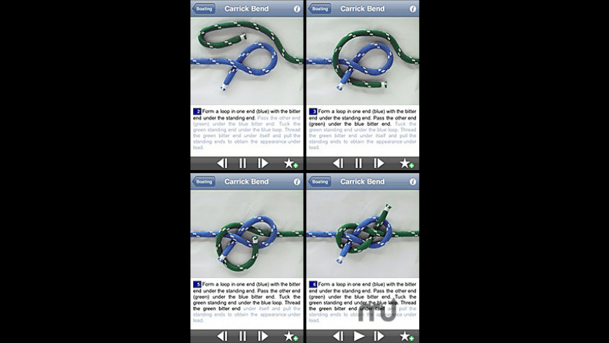 Animated Knots by Grog for Mac - review, screenshots