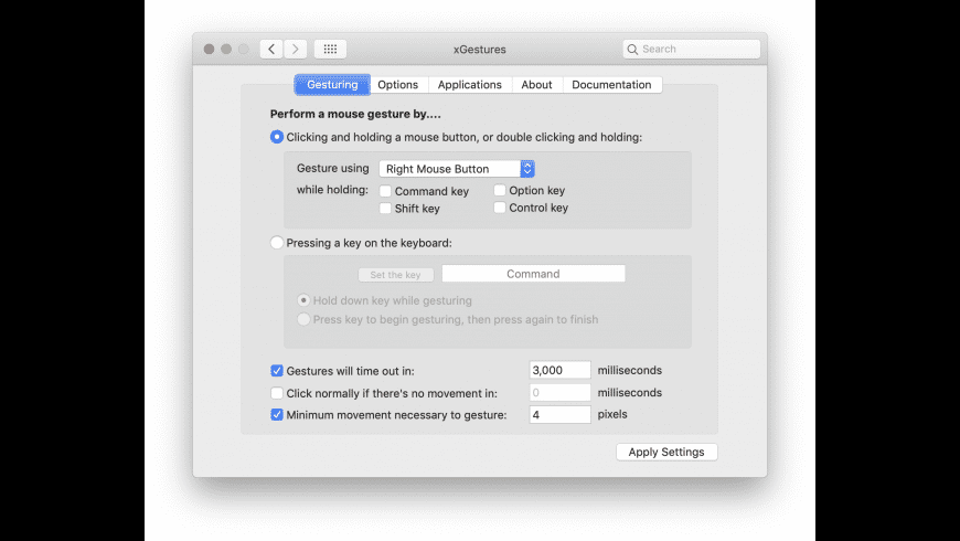 xGestures for Mac - review, screenshots