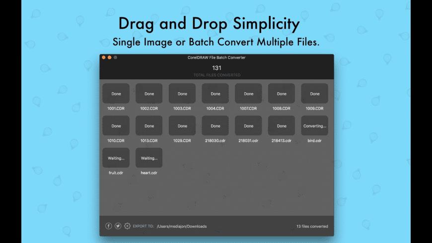 CDRConverter for Mac - review, screenshots