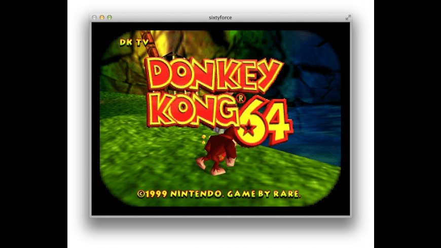 sixtyforce for Mac - review, screenshots