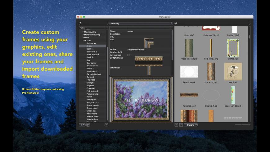 ImageFramer for Mac - review, screenshots