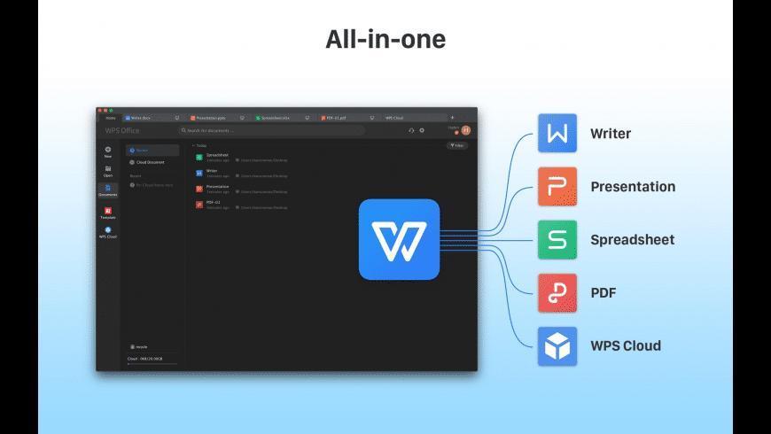 WPS Office for Mac - review, screenshots