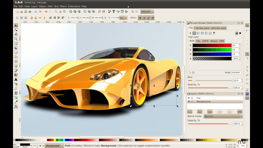 Inkscape for Mac - review, screenshots