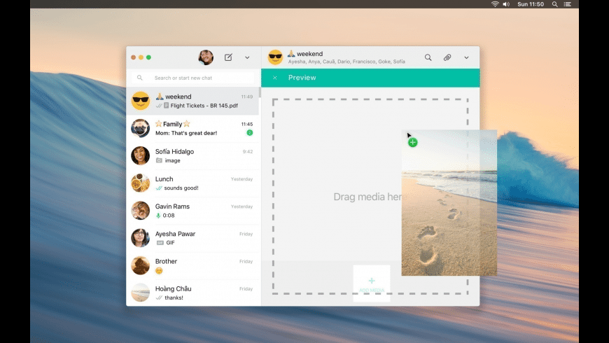 WhatsApp for Mac - review, screenshots