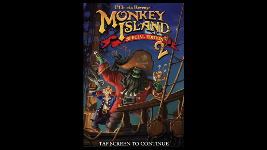 Monkey Island 2 Special Edition: LeChuck's Revenge for Mac - review, screenshots