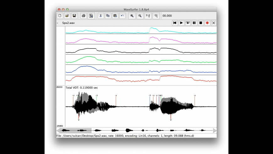 WaveSurfer for Mac - review, screenshots