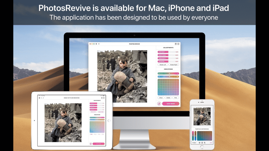 PhotosRevive for Mac - review, screenshots
