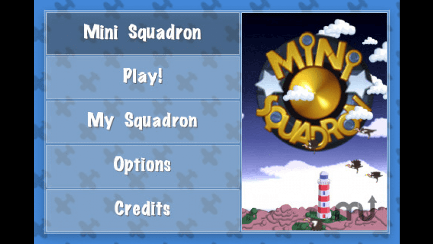 MiniSquadron for Mac - review, screenshots