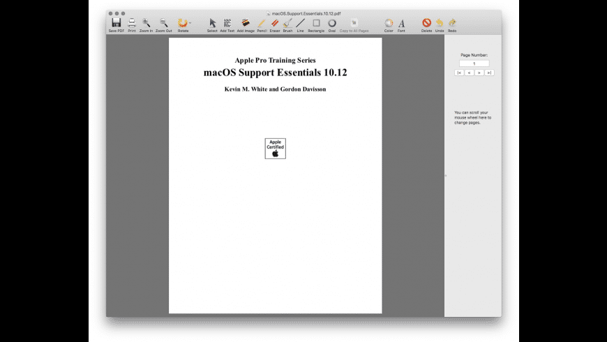 PDF Editor for Mac - review, screenshots