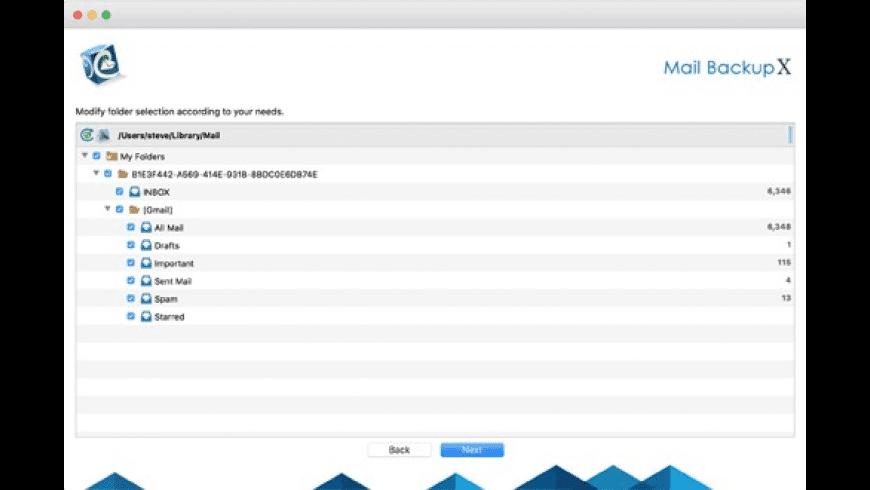 Mail Backup X for Mac - review, screenshots
